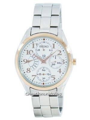 Seiko Retrograde Quartz Multi-Function SRL052 SRL052P1 SRL052P Women's Watch