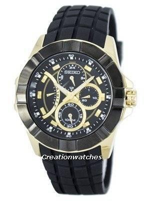 Seiko Lord Retrograde Quartz Multi-Function SRL070 SRL070P1 SRL070P Men's Watch