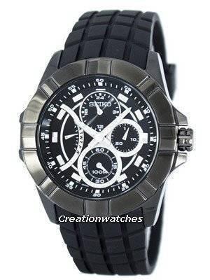 Seiko Lord Retrograde Quartz Multi-Function SRL071 SRL071P1 SRL071P Men's Watch