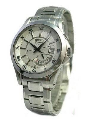 Seiko Kinetic Elite Collection Premier Men's Watch SRN001P1 SRN001P SRN001