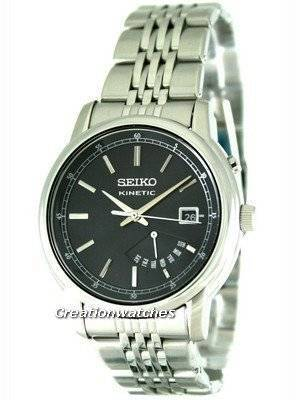 Seiko Kinetic Retrograde Day Indicator SRN029 SRN029P1 SRN029P Men's Watch
