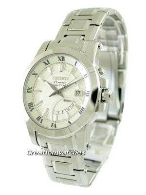 Seiko Premier Kinetic SRN037P1 SRN037P SRN037 Men's Watch