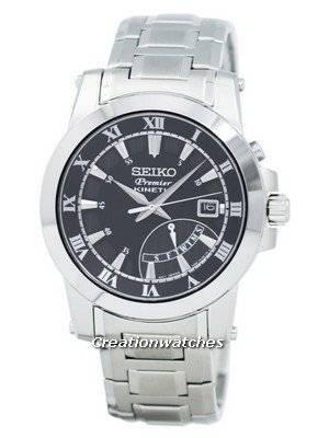 Seiko Premier Kinetic Retrograde SRN039 SRN039P1 SRN039P Men's Watch