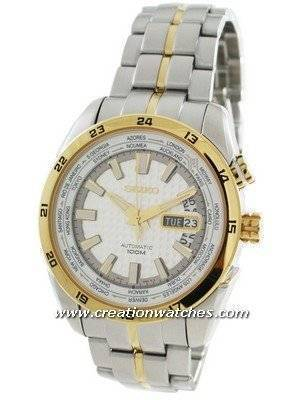 Seiko Superior Automatic World Time SRP036 SRP036K1 SRP036K Men's Watch
