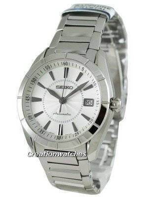 Seiko Automatic Hand Winding Sapphire Japan Made Presage SRP101J1 Mens Watch