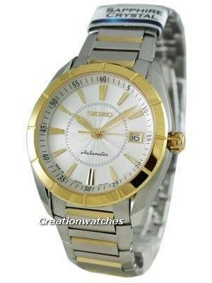 Seiko Automatic Hand Winding Sapphire Japan Made Presage SRP104J1 Mens Watch