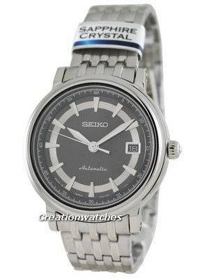 Seiko Automatic Hand Winding Sapphire Japan Made Presage SRP113J1 Mens Watch