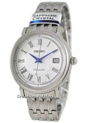 Seiko Automatic Hand Winding Sapphire Japan Made Presage SRP119J1 Mens Watch