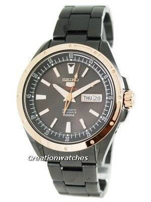 Seiko 5 Sports Automatic Hand Winding SRP162K1 SRP162 SRP162K Special Edition Mens Watch