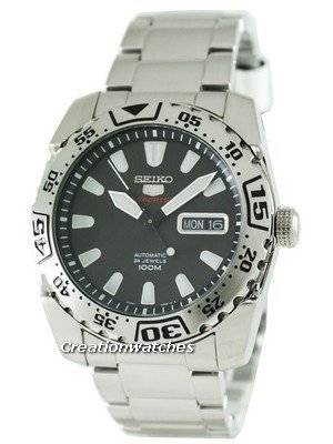 Seiko 5 Sports Automatic Hand Winding SRP165K1 SRP165 SRP165K Mens Watch