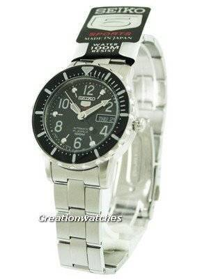 Seiko 5 Sports Automatic SRP197J1 SRP197J SRP197 Mid-Size Watch