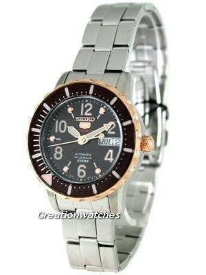 Seiko 5 Sports Automatic SRP200K1 SRP200K SRP200 Mid-Size Watch