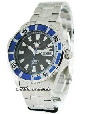 Seiko 5 Sports Automatic Diver SRP203K1 SRP203K Mens Watch