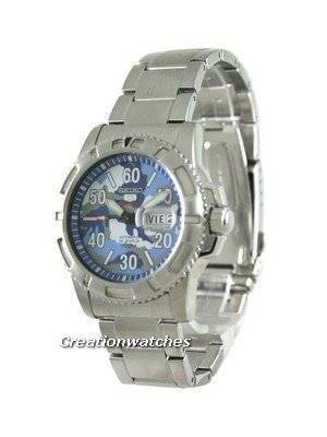 Seiko 5 Sports Automatic Military Dial SRP223K1 Mens Watch