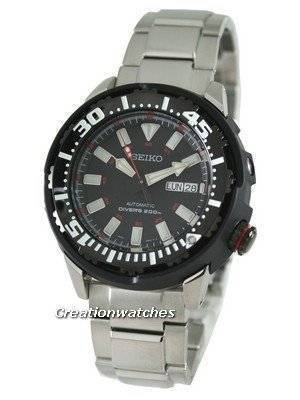 Seiko Superior Automatic Hand Winding 200M Divers SRP229K1 SRP229K SRP229 Mens Watch