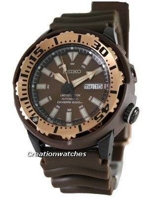 Seiko Automatic Diver Limited Edition SRP236K1 SRP236K SRP236 Mens Watch