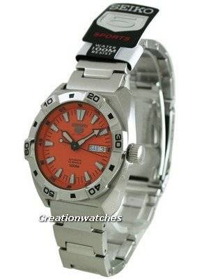 Seiko 5 Sports Automatic 24 Jewels SRP283 SRP283K1 SRP283K Mens Watch