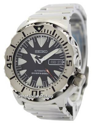 Seiko Japan Made Automatic Monster Diver SRP307 SRP307J Men's Watch