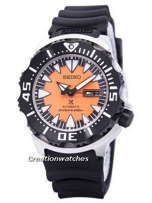 Seiko Monster Automatic Divers SRP315 SRP315K1 SRP315K Men's Watch