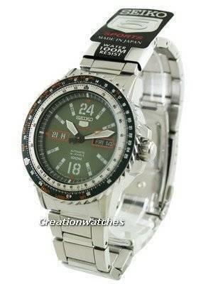 Seiko 5 Sport Automatic SRP349 SRP349J1 SRP349J Men's Watch