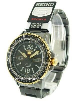 Seiko 5 Sports Automatic 24 Jewels SRP356K1 SRP356K Men's Watch