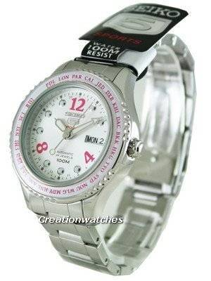 Seiko 5 Womens Sports Automatic SRP365K1 SRP365K SRP365