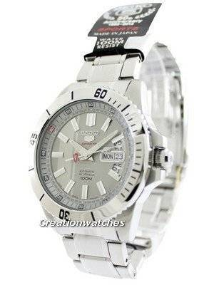 Seiko 5 Sports Automatic 24 Jewels SRP421J1 SRP421J Men's Watch