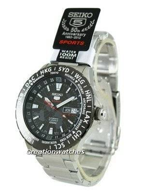 Seiko 5 Sports Automatic SRP433 SRP433K1 SRP433K Men's Watch