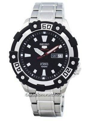 Seiko 5 Sports Automatic 24 Jewels SRP471 SRP471K1 SRP471K Men's Watch