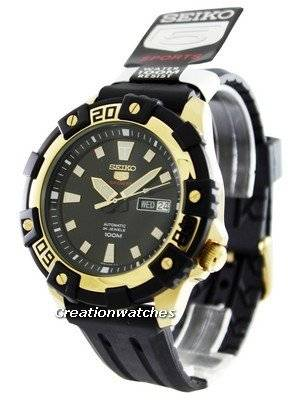 Seiko 5 Sports Automatic 24 Jewels SRP478K1 SRP478K Men's Watch