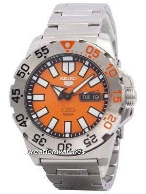 Seiko 5 Sports Automatic Monster SRP483 SRP483K1 SRP483K Men's Watch