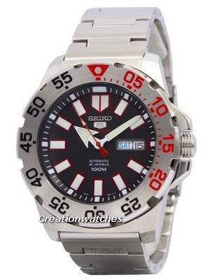 Seiko 5 Sports Automatic Monster SRP485 SRP485K1 SRP485K Men's Watch