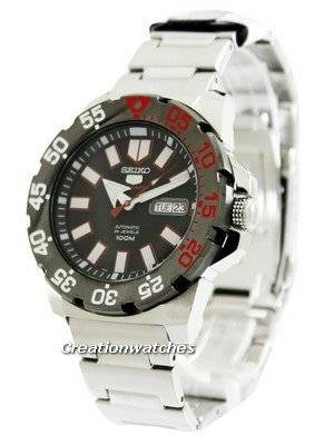 Seiko 5 Sports Automatic Monster SRP487 SRP487K1 SRP487K Men's Watch