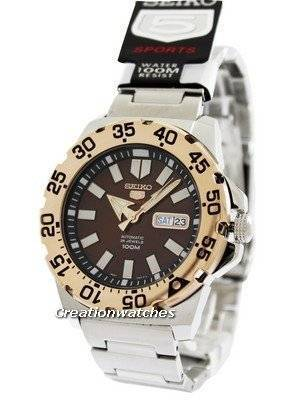 Seiko 5 Sports Automatic Monster SRP488 SRP488K1 SRP488K Men's Watch