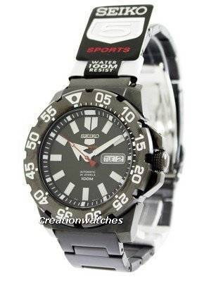Seiko 5 Sports Automatic Monster SRP489 SRP489K1 SRP489K Men's Watch