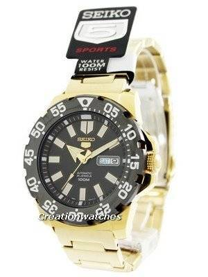 Seiko 5 Sports Automatic Monster SRP490 SRP490K1 SRP490K Men's Watch
