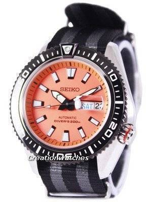 Seiko Superior Automatic Diver's 200M NATO Strap SRP497K1-NATO1 Men's Watch