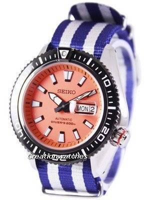 Seiko Superior Automatic Diver's 200M NATO Strap SRP497K1-NATO2 Men's Watch