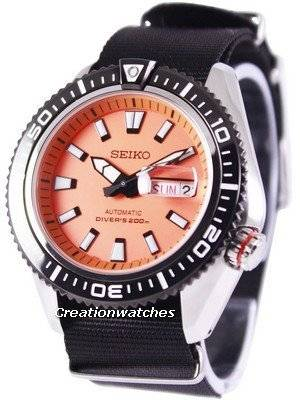 Seiko Superior Automatic Diver's 200M NATO Strap SRP497K1-NATO4 Men's Watch