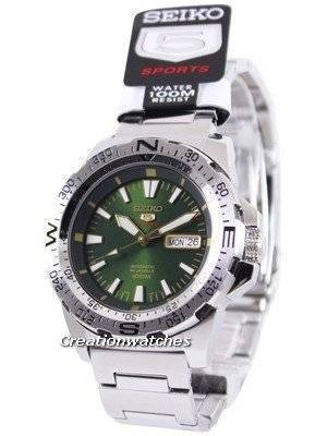 Seiko 5 Sports Automatic 24 Jewels SRP537 SRP537K1 SRP537K Men's Watch