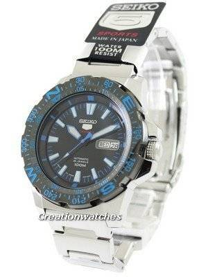 Seiko 5 Sports Automatic Japan Made SRP543 SRP543J1 SRP543J Men's Watch