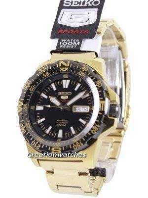 Seiko 5 Sports Automatic 24 Jewels SRP548 SRP548K1 SRP548K Men's Watch