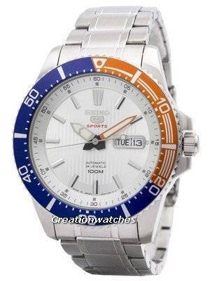 Seiko 5 Sports Automatic 24 Jewels Japan Made SRP549 SRP549J1 SRP549J Men's Watch