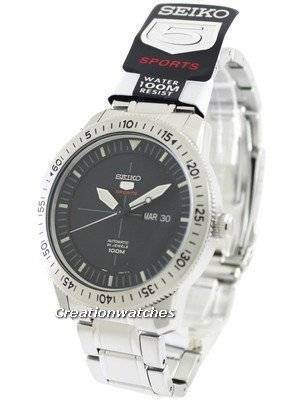 Seiko 5 Sports Automatic 24 Jewels SRP563 SRP563K1 SRP563K Men's Watch