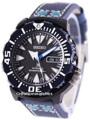 Seiko Prospex Air Diver 200M Ratio Blue Leather SRP581K1-LS5 Men's Watch