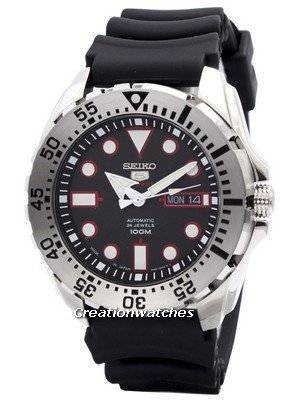 Seiko 5 Sports Automatic 24 Jewels Japan Made SRP601 SRP601J1 SRP601J Men's Watch