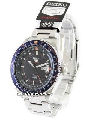 Seiko 5 Sports Automatic Pilot SRP609K1 SRP609K Men's Watch