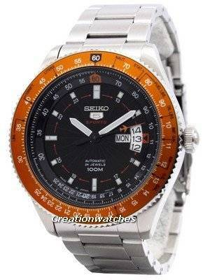 Seiko 5 Sports Automatic 24 Jewels Pilot Japan Made SRP611 SRP611J1 SRP611J Men's Watch