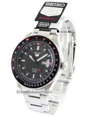 Seiko 5 Sports Automatic Pilot SRP613 SRP613K1 SRP613K Men's Watch