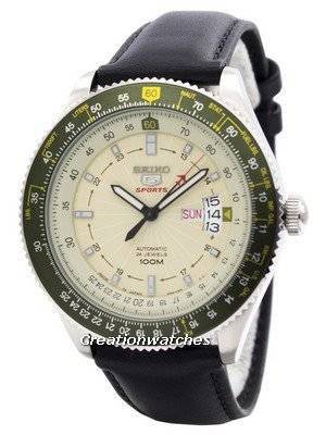 Seiko 5 Sports Automatic 24 Jewels Pilot Japan Made SRP615 SRP615J1 SRP615J Men's Watch